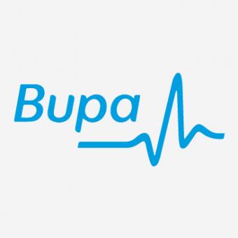 Image with Bupa brand logo